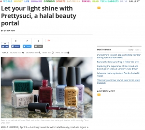Let your light shine with Prettysuci, a halal beauty portal